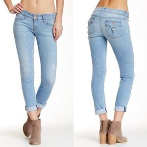 HUDSON Ginny Straight Ankle Jeans 27